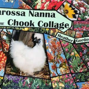 Barossa Nanna and the Chook Collage