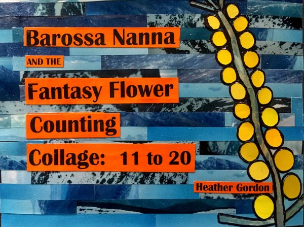 Barossa Nanna and the Fantasy Flower Collage Counting 11-20